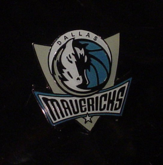 NBA Dallas Mavericks Crest Pin
