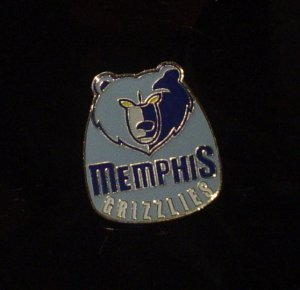 NBA Memphis Grizzlies Crest Pin