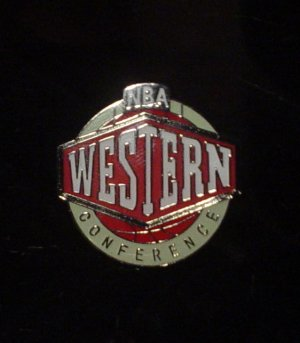 NBA Western Conference Crest Pin