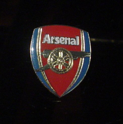 Arsenal Football Club Crest Pin