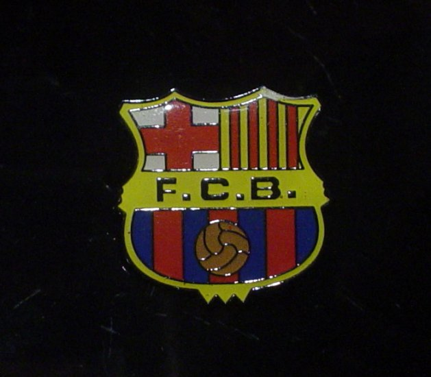 FC Barcelona Crest Pin
