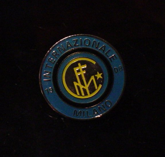 Inter Milan Crest Pin