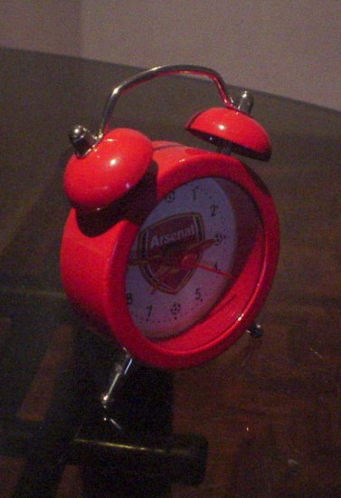 Arsenal Football Club Mini Alarm/Desk Clock