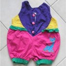 3 color Short overalls size 12 m