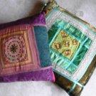 2 Decorative  Oriental  Pillows