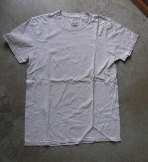 CALVIN KLEIN white tee t-shirt small petit s/p