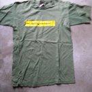 Green 3 STAR UK tee print short sleeves size M