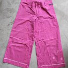 SARIT BAR ZOHAR A line pink cropped striped pants trousers pantaloni hosen size 38