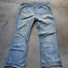 Basics denim blue jeans dżinsy low rise pants trousers Pantaloni Hosen sz 44