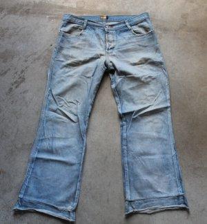 Basics denim blue jeans dżinsy low rise pants trousers Pantaloni Hosen sz 44