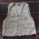 Khaki Military Men's PHE NOM Vest sz M