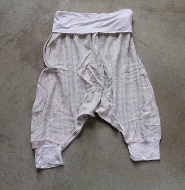 BLANCO sharwal Pants Shorts 3/4 leg Cotton one-size trousers pantalones hosen