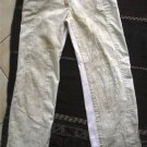 Women junior ONEWAY beige patches pants sz 1