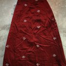Kapriza HAGIT TASA Red Scarlet Skirt Gonna Юбка Jupa sz S