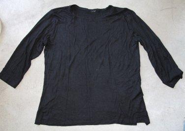 Black T-Shirt tank top Sz XL
