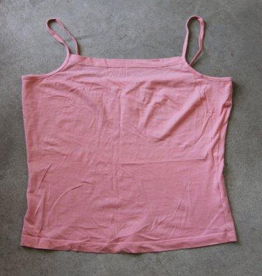PHILIP FUSSEL Pink Spagetti straps Camisole Singlet Canotta tank top Sz S(us) M (eur)