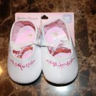 Pink and White Shoe