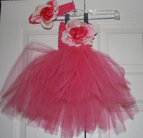 Tutu Crochet Dress