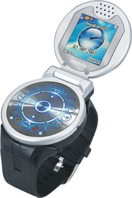 flip cell phone watch MW01 GSM850/1900 or 900/1800,1 GB card is offer  free as a gift