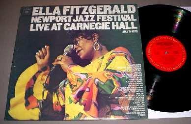 Ella Fitzgerald Live at Carnegie Hall