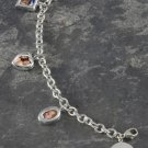 Personalized Precious Photos Charm Bracelet