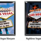 Vegas Marquee Framed Print - Available in 2 Designs