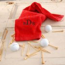 Golf Towel (black, navy, red) - Free Personalization