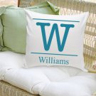 16x16 Family Name Throw Pillows - Free Personalization