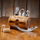 Wine Barrel Accessory Set - Free Personalization