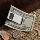 Carbon Fiber Money Clip - Free Engaving