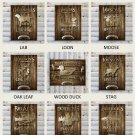 "Rustic Wood Lakehouse Canvas 18""x24"" - Free Personalization"