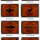 Cabin Series Traditional Sign - Available in 9 Designs
