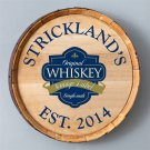 Whiskey Barrel Sign - 6 Designs - Free Personalization