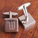 Harrison Silver Cufflinks - Free Personalization
