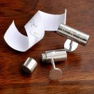 Secret Agent Cufflinks - Free Engraving