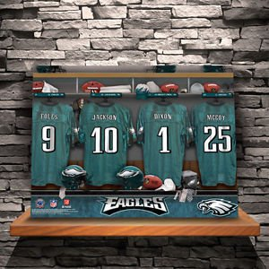 NFL Locker Room Canvas Prints - Free Personalization