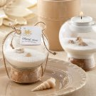 Sand and Shell Tealight Holder  (Set of 24) - Free Personalized Tags