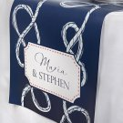 Personalized Table Runner - Nautical Wedding Collection (Multiple Sizes Availabl