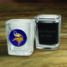 Personalized NFL Shot Glass - Available in All 32 Teams - Free Personalization
