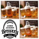 Brewery Growler Set - Free Personalization