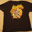 Queen  Play The Game Black T-Shirt Size XL