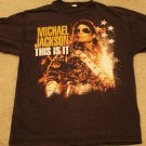 "Michael Jackson ""This is it"" Black Shirt Size Large"