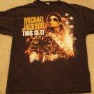 "Michael Jackson ""This is it"" Black Shirt Size Large"