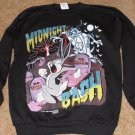 Bugs Bunny and Taz Midnight Bash Black Sweatshirt XL