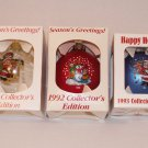 Campbell's Soup Collectible Ornaments (3) 91', 92', 93'