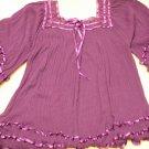 Woman's Purple Blouse