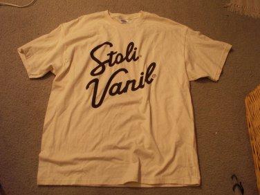 Stoli Vanil Beer Shirt - Size Adult XL