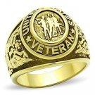 Gold Veteran's Ring