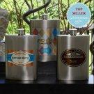 Wingman's Flasks (4 designs) - Free Personalization