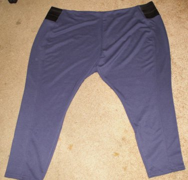 Woman Within Purple Pants Size 5X - Excellent Condition